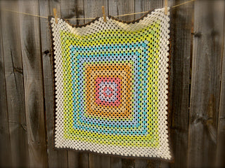 Granny Smith Blanket Pattern by Donna Higgins