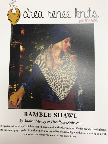 Ramble Shawl Pattern