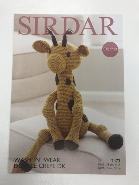 Giraffe toy pattern