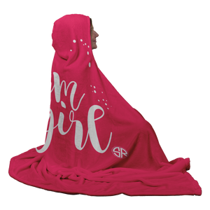 Glam Girl Hooded Blanket