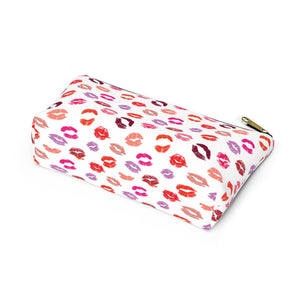 Lips Make Up Bag with T-bottom