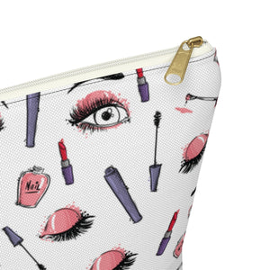 Eyes Makeup Bag with T-Bottom