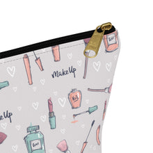 Load image into Gallery viewer, Makeup Makeup Bag with T-Bottom