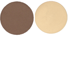 Load image into Gallery viewer, Summer Royce, House of Beauty, Luxe Hi-Brow Pallet, Powder and Wax, tweezers included, wax pomade, powder, brow powder, brow wax, deep brown, angle applicator, 2 pallet, deep brown colors, deep brown colors