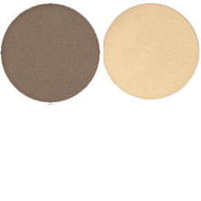 Load image into Gallery viewer, Summer Royce, House of Beauty, Luxe Hi-Brow Pallet, Powder and Wax, tweezers included, wax pomade, powder, brow powder, brow wax, desert brown, angle applicator, 2 pallet, desert brown colors