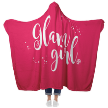 Load image into Gallery viewer, Glam Girl Hooded Blanket