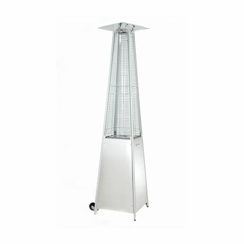 Patio Heater - Gas - Glass Tube