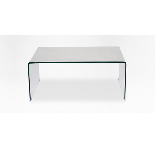 Coffee Table - Rylee Glass Curved