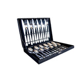 Cutlery Sets - Stainless Steel boxed - 24/Pack