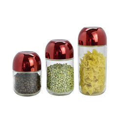 Canister Sets -  3Pc Clear