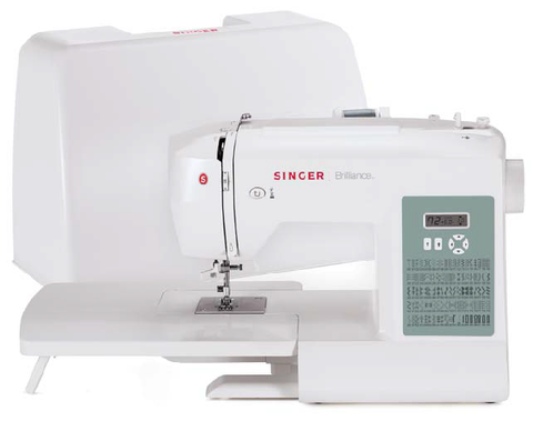 Singer Brilliance Electronic Sewing Machine - 6199 - Domestic