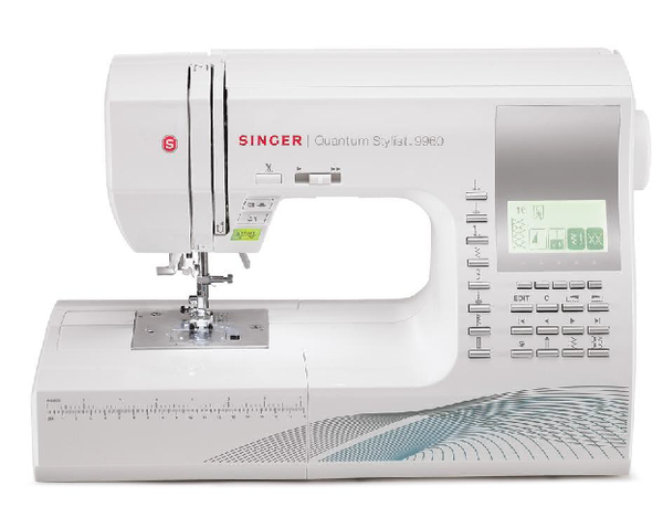 Singer 9960 - Quantum Stylist Electronic Sewing Machine - Domestic