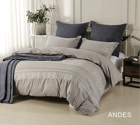 Cotton Comforter Set - 7pc Andes