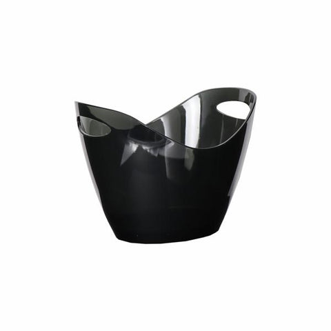 Ice Buckets - Clear Black