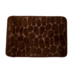 Bathroom Mat - Memory Foam Pebble Design