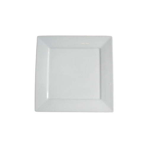 Dinner Plates  - Square Bone China Flat