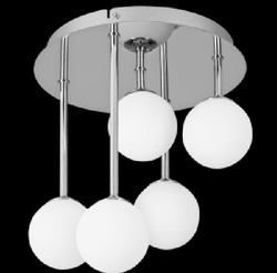 Ceiling Light - 015/5 Chrome