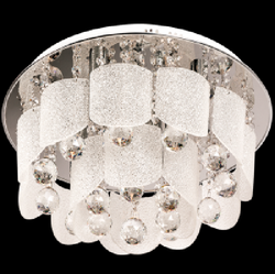 Ceiling Light - CF286/6 Chrome