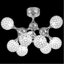 Ceiling Light - CF314/9 Crystal