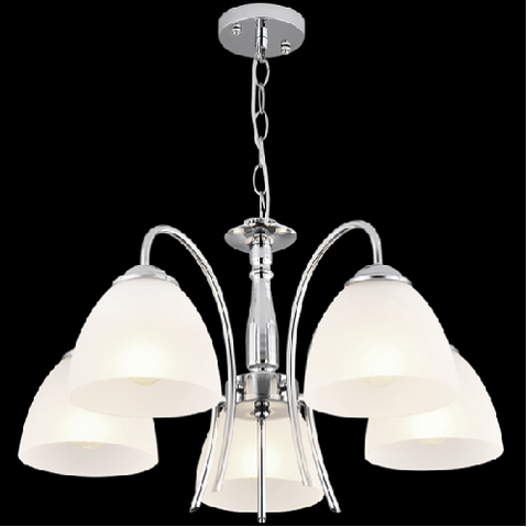 Chandelier Light - CH079/5 Chrome