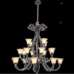 Chandelier Light - CH097/20 Black Gold