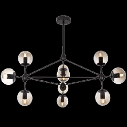 Chandelier Light - CH100/10 Black