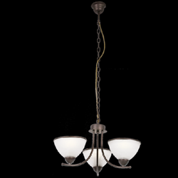 Chandelier Light - CH169/3 Black Brown