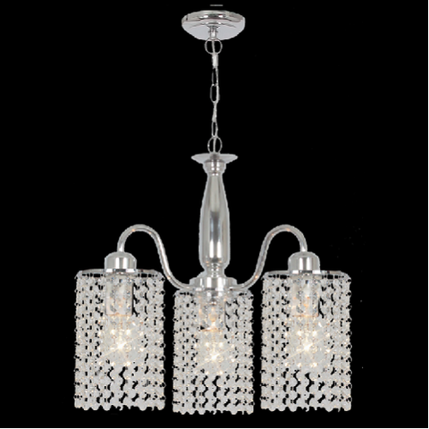 Chandelier Light - CH522/3 Chrome