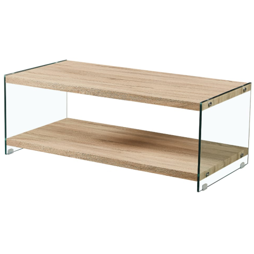 Rectangle Wooden Top Coffee table - CT349