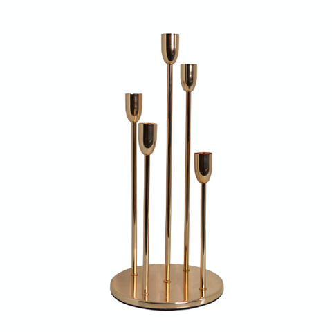 Candle Stands set - 5pc Reed Stands