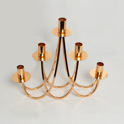 Candle Holder - Curved 5 Spoke