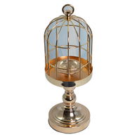 Centerpiece - Metal Wedding Bird Cage Centerpiece