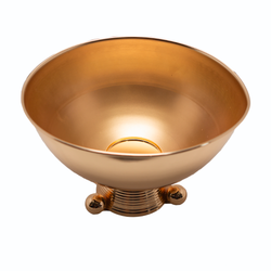Punch Bowl / Ice Bucket - Gold Egyptian