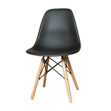 Emmy Wooden Leg Cafe Chair