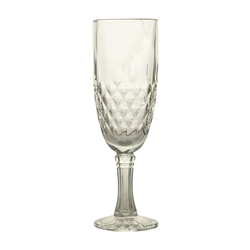 Glassware - Champagne Crystal Glasses - 6's