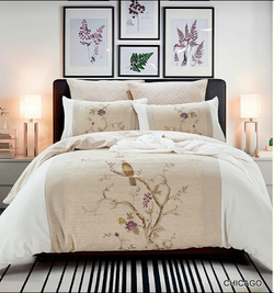 Cotton Comforter Set - 7pc Chicago