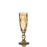 Champagne Flute - Crystal Colours - 6's