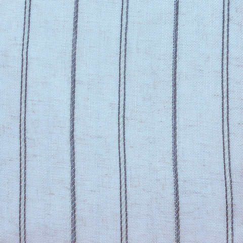 Ready Made Lace Sheer - Stripe Linen 5m