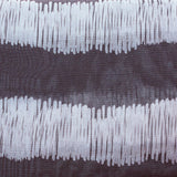 Ready Made Lace Sheer - Printed Voile 5m - Stripe