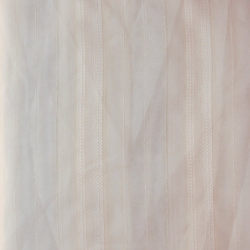 Ready Made Lace Sheer - Leno Stripe 5m