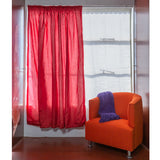 Ready Made Curtains - Faux Silk
