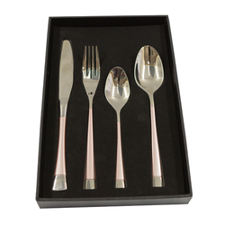 Cutlery Sets - Stainless Steel - 4/Pack
