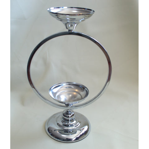 Candle Holder - Double Halo