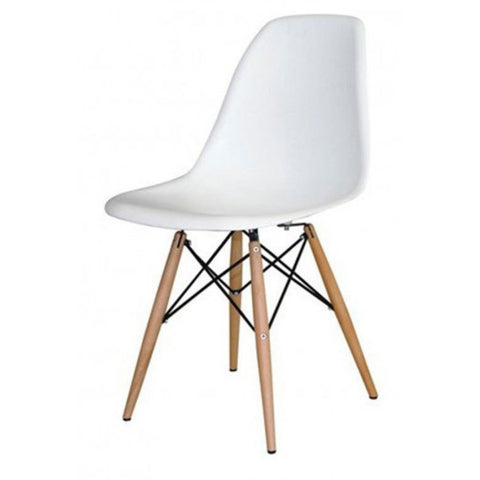 Emmy Wooden Leg Dining Chair