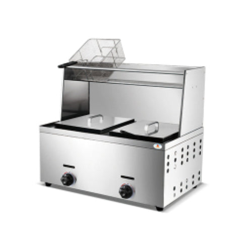 Gas Fryer - 2 x 10liter - Table Top