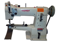 Gemsy 335bl - Industrial Walking Foot Machine With Cylinder Arm