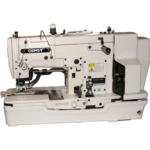 Gemsy 781d - Industrial Button Hole Machine