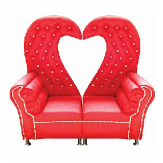 Wedding Couch - Heart Shaped