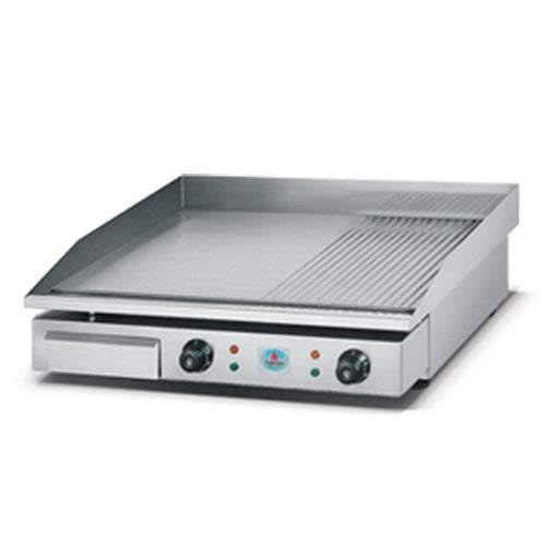 Electric Griller - Flat & Griddle Top - 720mm