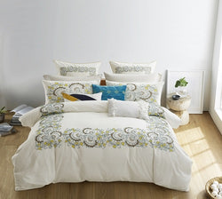 Cotton Comforter Set - 7pc Highland